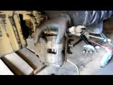 Nissan Almera N16 замена передних тормозных дисков