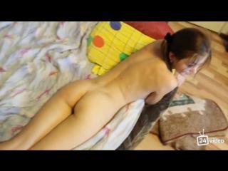 [t.me/vidhot] страстный секс молодой парочки. сначала в пизду, а потом в ее девственный анал. [anal, porno, home, порно]