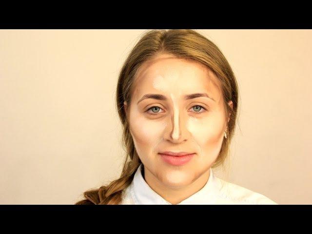 Как делать коррекцию лица | Контурирование формы лица | YourBestBlog