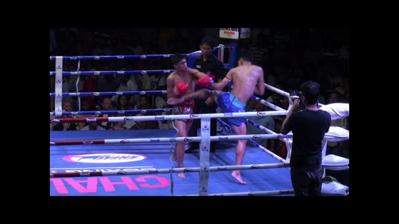 Sangmanee Sor Tienpo vs Petchlamsin Sorkor Sungaigym @ Chalong Boxing Stadium 25 1 15