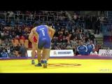 КЕН-2014 86 кг. Шамиль Кудиямагомедов - Нурмагомед Гаджиев (Азербайджан)
