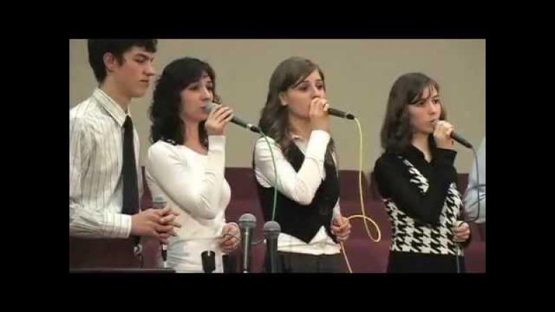 Я не залишу Тебе. Христианская песня на украинском языке. Молодежная вокальная группа.