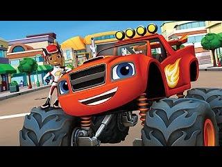 Blaze and the Monster Machines Full Episodes - Cartoons For Children Monster Trucks