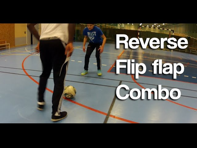 Learn the Reverse Elastico Combo - Crazy Football Skill