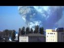 Донецк 20.09.2014 мощный взрыв и пожар в промышленной зоне.