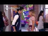 Violetta 3 - León va al Studio a cantar con el grupo (03x53)