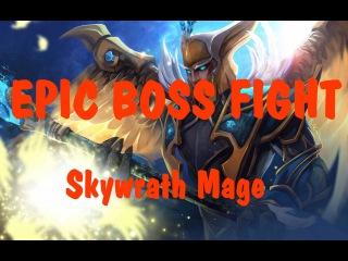 Dota 2 Reborn |EPIC BOSS FIGHT map |Skywrath Mage