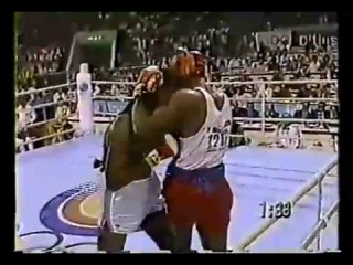 леннокс льюис - риддик боуи (сеул 88) Lennox Lewis vs Riddick Bowe 88 Olympic Final