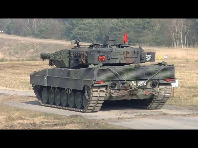 PzBtl33 Goldener Schuss mit Kpz Leopard 2 120mm Bergen Hohne Bundeswehr