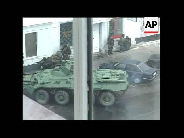 Dramatic APTN cover of siege, gunfire, bodies, damage