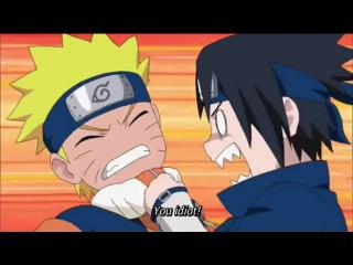 Naruto Shippuden: Naruto and Sasuke Funny Moment