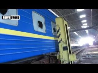 Шокирующие кадры последствий обстрелов украинских нацистов инфраструктуры ДНР