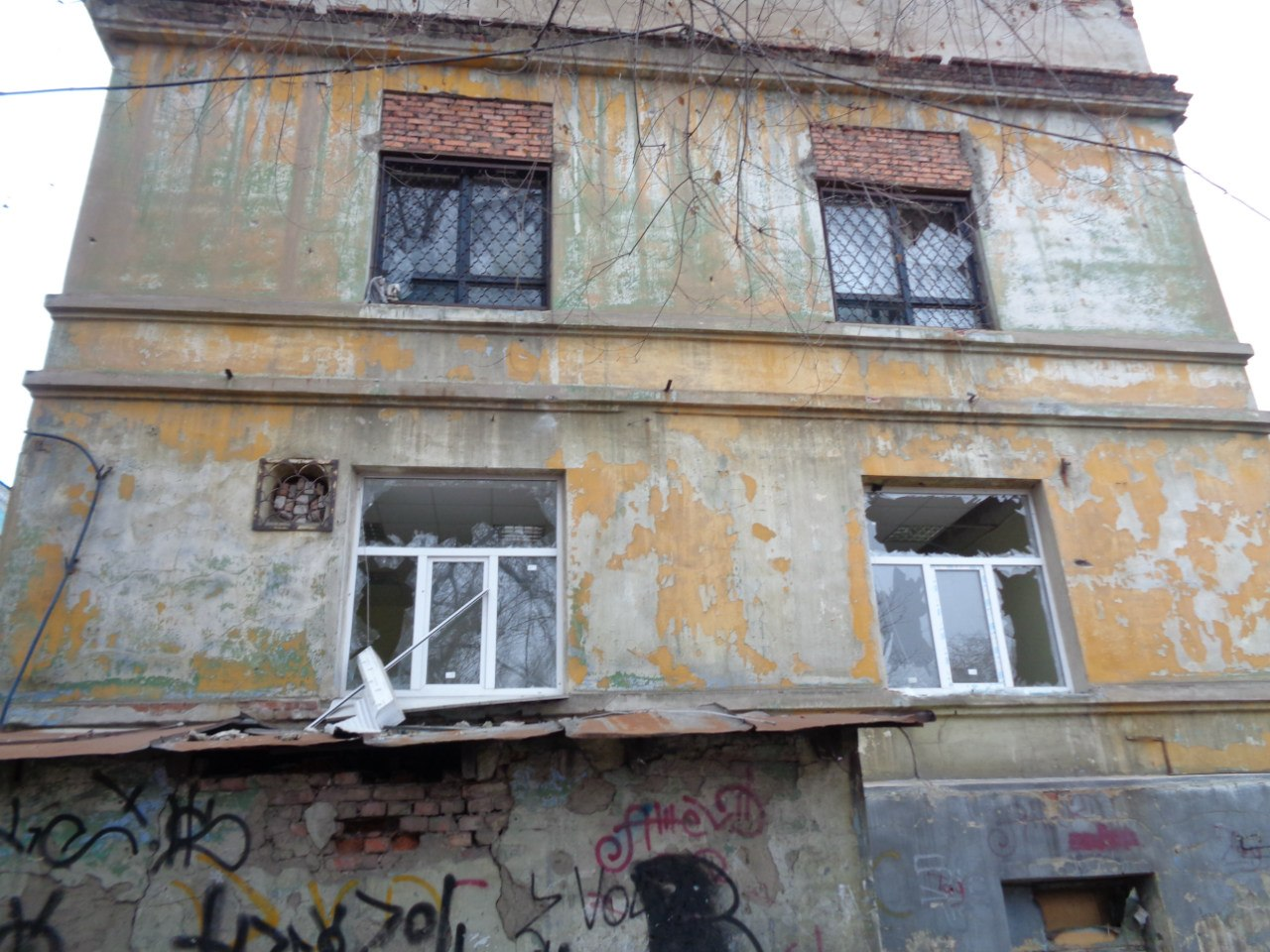 Больница №18 на Киевском проспекте вблизи Аэропорта