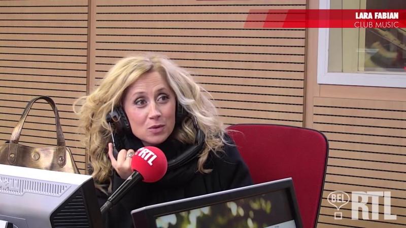 Lara Fabian est l'invitée de Serge Jonkers Club Music Bel RTL
