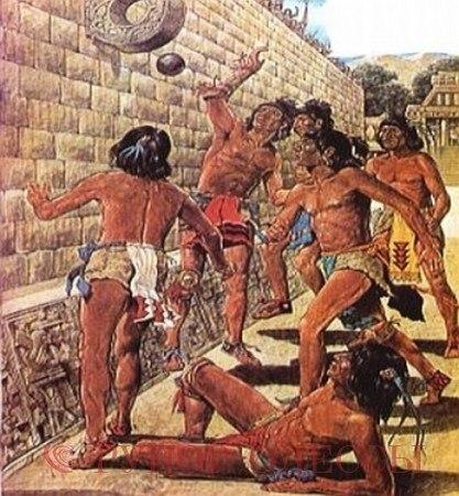 Спорт изобрели Майя