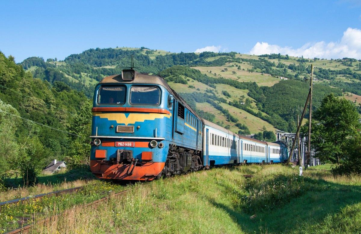 Поезд в Карпаты