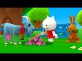 Çizgi film - Musti - Kayıp havuç - TRT Çocuk - turkce izle