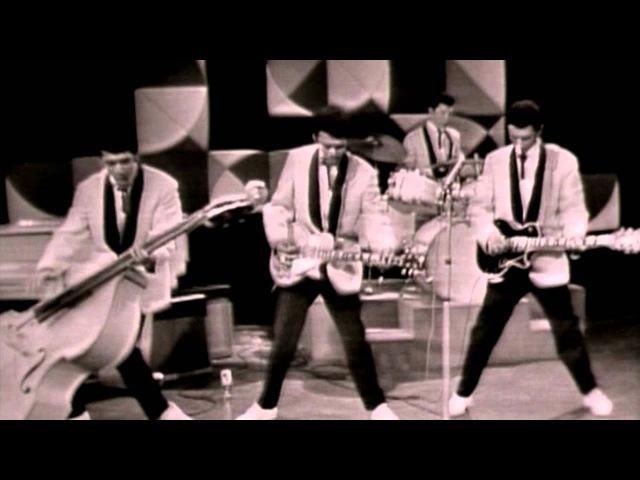 Tielman Brothers - Black Eyes Rock (guitar instrumental) indo rock live tv show 1960