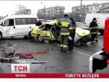 В Киеве в масштабном ДТП погибли трое человек