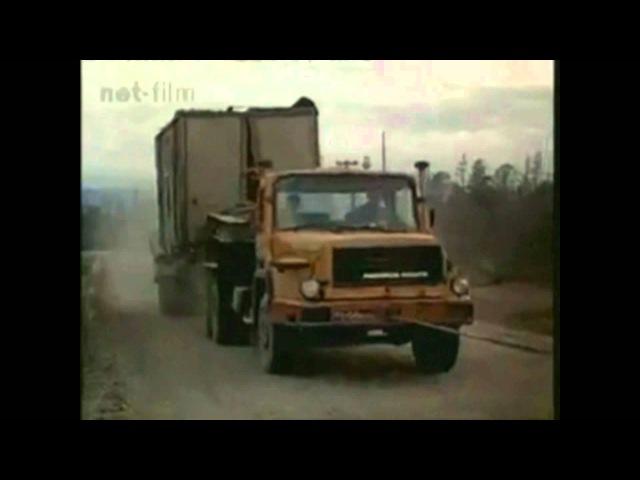 Magirus LKW nach Sibirien (Delta-Projekt)