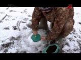 Ловля судака на жерлицы со льда Охота и Рыбалка на Можайском Водохранилище