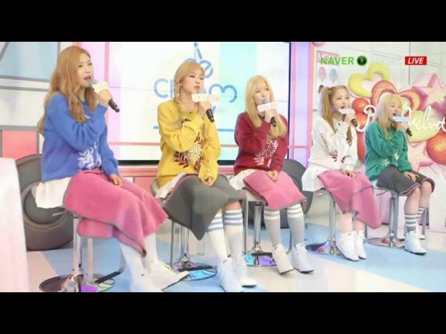 150318 아이스크림TV @ 레드벨벳 사탕 Red velvet candy KHJ