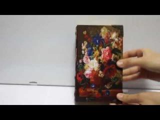Шкатулка книга из дерева - A24Mag.ru