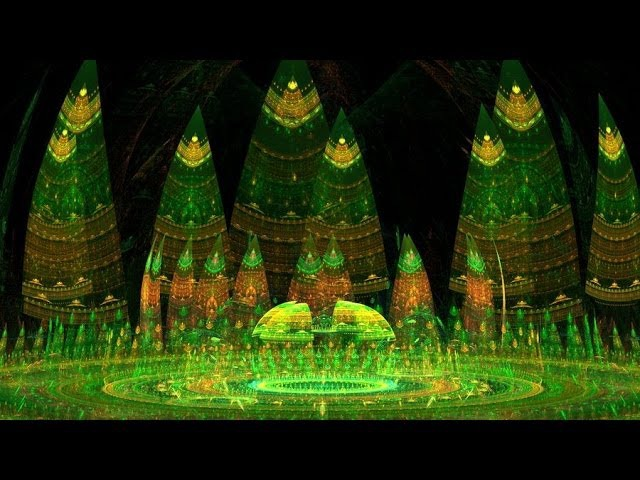 Harmonic Frequency Fractal Forest Music Video смотреть онлайн без регистрации