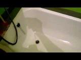 ванна после ремонта (покрыли акрилом).
