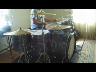 Vintage Ludwig Drums using Zoom Q3hd recorder