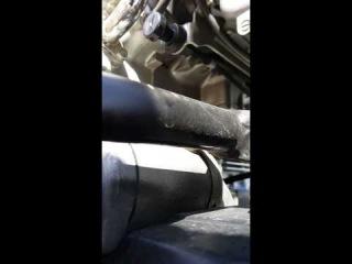 Honda x4 что за писк?