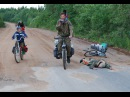 Ледяной велопоход по реке Онеге: Плесецк-Ворзогоры 2008 - фильм от ГородокТВъ
