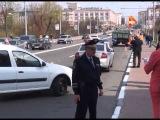 ДТП с участием скутериста на пр. Ленина