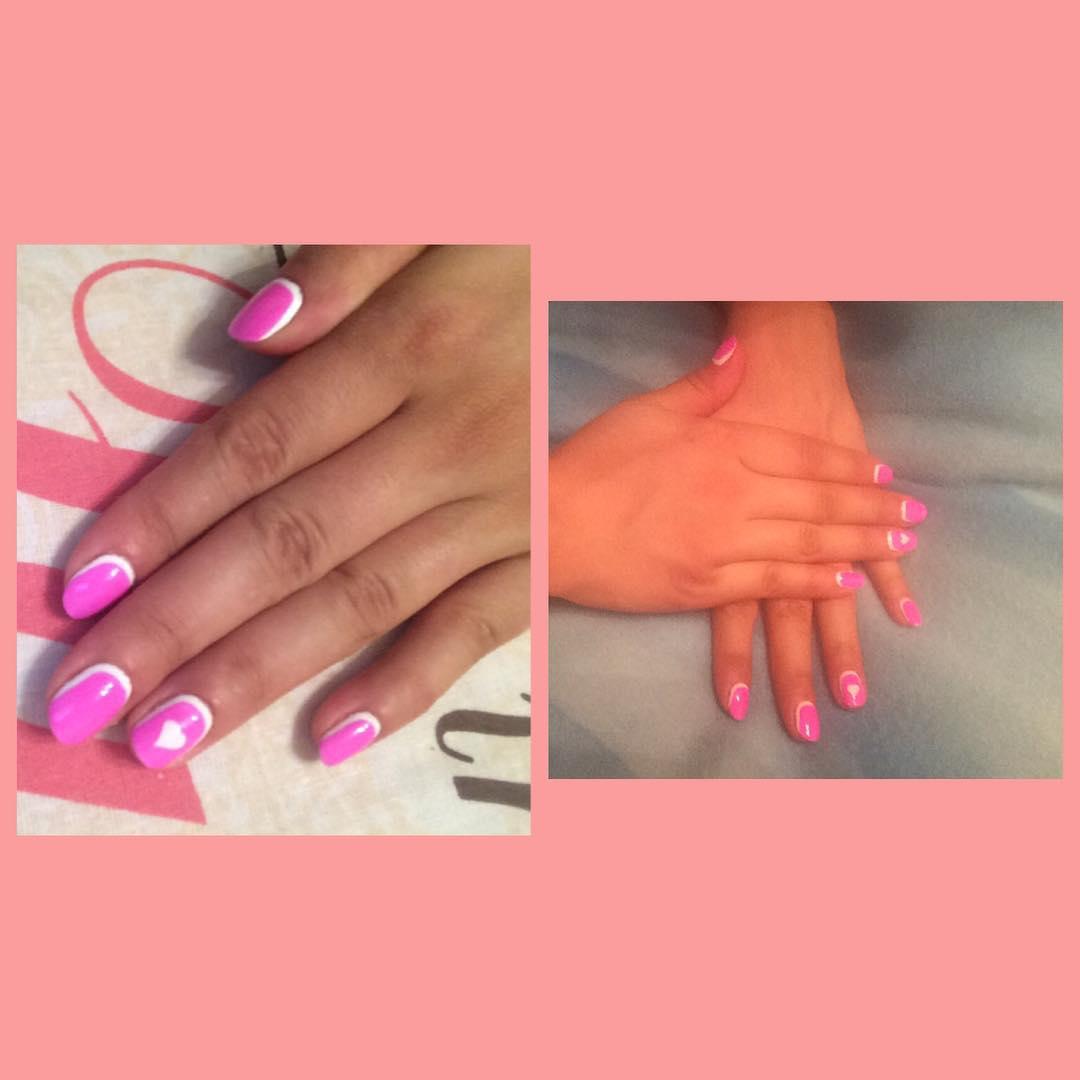Как сделать на ногтях шеллаком 512