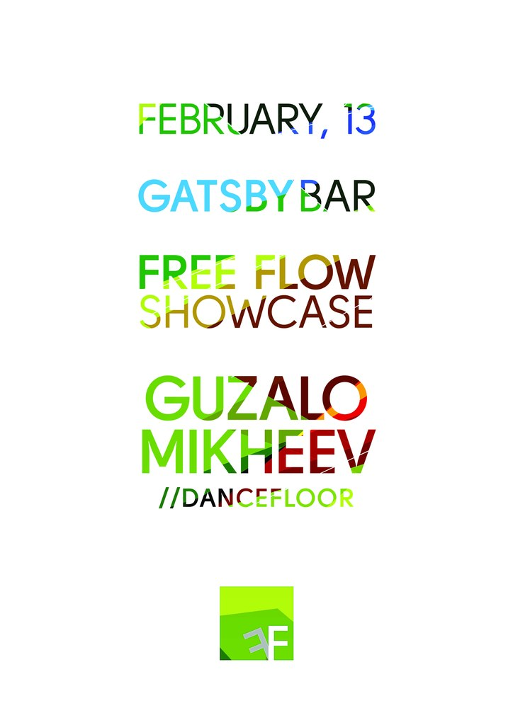 Афиша Хабаровск 13.02 / FREE FLOW SHOWCASE / GATSBY