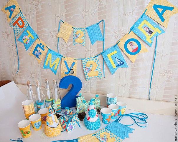 Идеи для оформления дня рождения ребенку своими руками