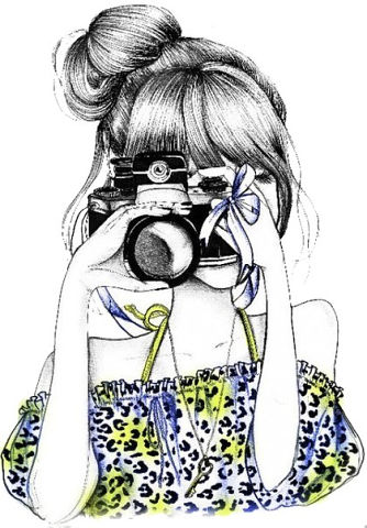 на аву нарисованные девушки: