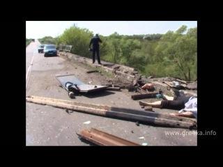 Трое пассажиров рейсового автобуса погибли, семеро – в больнице. Видео с места смертельного ДТП.