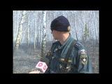 На трассе М-5 в Челябинской области от огня спасают АЗС