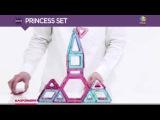 Magformers Магформерс Магнитный конструктор Princess Set Принцесса с 3 лет 63134