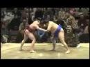 Skinny Sumo Wrestler Dominates