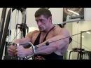 Дмитрий Яшанькин Тренировка с чемпионом Адам Козыра тренирует грудь и бицепс