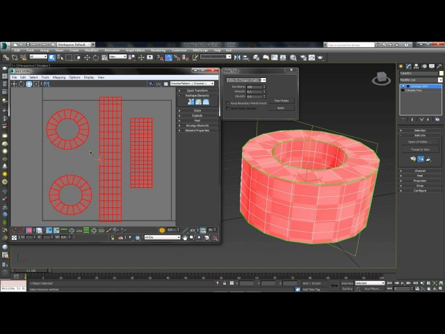 3D Max KF - Unwrap UVW(введение)