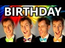 Birthday Song (The Beatles) - A Cappella Barbershop Quartet - Julien Neel