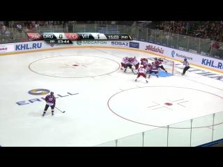 Vityaz @ Dinamo Riga 09-17-2015 - Динамо Рига - Витязь 1-4