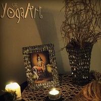 Логотип YOGA ART ПИТЕР