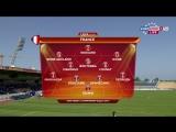 Евро u17 | 1/2 | Belgium - France | Full Match RU | 1st half | Edouard, Ikone, Georgen, Doucure