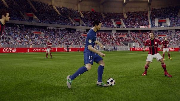 Мод FIFA 15 Ultra Графика 2.0 Lite от нашего сайта, сделает очень красивую графику