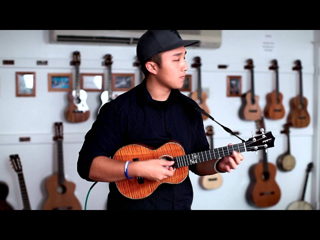 Kris Fuchigami Can't Take My Eyes Off You Ukulele Instrumental