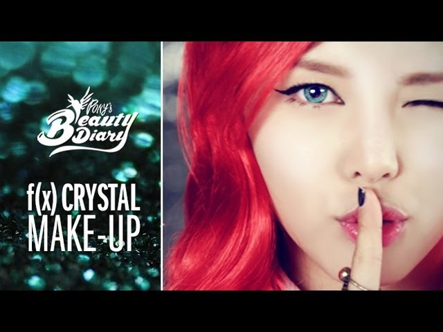 Pony's beauty diary - 에프엑스_첫 사랑니(Rum pum pum pum)_Krystal makeup